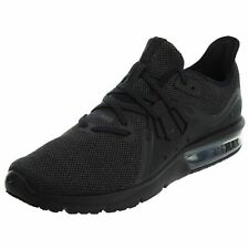 detailed look 75520 20d8c Nike Air Max Sequent 3 Running Shoes Black Anthracite 921694-010 Men s NEW