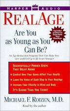 RealAge : Are You as Young as You Can Be? by Michael F. Roizen (1999, Cassette,