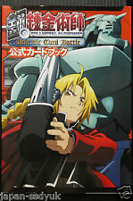 Japan Fullmetal Alchemist Alchemic Card Battle Official Card Book Not with Card
