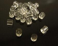 100pcs Clear Rubber Back Earring Stoppers-2345