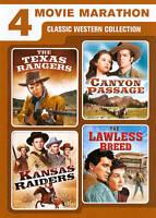 4 Movie Marathon: Classic Western Collection:  (DVD, 2011, 2-Disc Set)