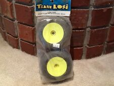 Team Losi glued truck FR Directionals: Silver. LOSA17505S