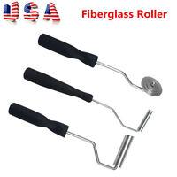 3 PCS/SET Fiberglass Bubble Paddle Laminating Roller Kit For FRP Mould Resin GRP