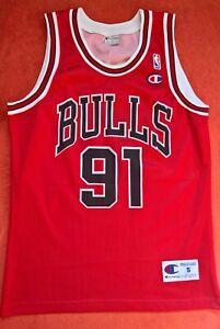 Chicago Bulls NBA Dennis Rodman CHAMPION CONDITION NEW basketball shirt jersey