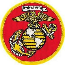 U.S. MARINES - PATCH - NEW - FOR JACKET OR VEST