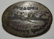 "1910 ""Steamer Hendrick Hudson"" Sterling Steamship Pin"