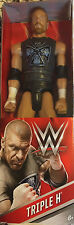 WWE 12 Inch Figure - Mattel - Triple H with Shirt - Brand New Sealed