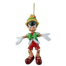 Authentic Disney Parks Pinocchio Christmas Ornament Articulated