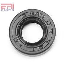 Oil Shaft Seal 15X30X7mm TC |EAI Double Lip w/ Spring. Metal Case w/ NBR Coating