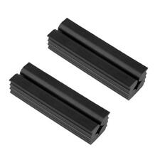 2 Pieces Durable Rubber Vise Clamp Golf Grip Kit for Regripping Golf Clubs