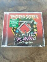 SEALED! Twisted Sister A Twisted Christmas (X-Mas) Live In Las Vegas CD READ!!!