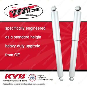 2 x Rear KYB Tena Force Shock Absorbers for Ford Courier PC PD PE PG PH
