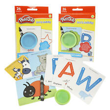 Preschool Flashcards Alphabet & Numbers Play Learn Activity Kit