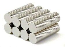"100 Pieces Lot 3//8/"" x 1//16"" Neodymium Magnet Round Disc Bottle Cap Magnet N50"