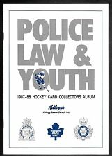 1987-88 Kellogg's London Police Toronto Maple Leafs MINT Album
