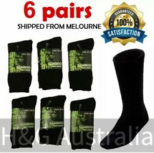 Bamboo Work Socks Heavy Duty Bamboo Socks Thick Winter Socks 6 Pairs Mens