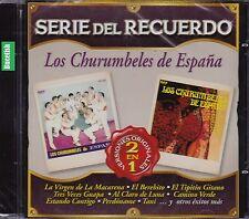 Los Churumbeles de Espana Serie del Recuerdo Versiones Originales 2EN1 CD New Nu