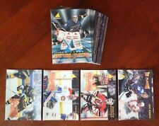 1995-96 NHL McDonald's 3D Full Set 41/41 with Unmarked Checklist / NNO Sakic CL