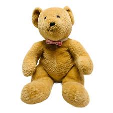 "Vintage Logo Brand 15"" Brown Teddy Bear Stuffed Plush Animal"