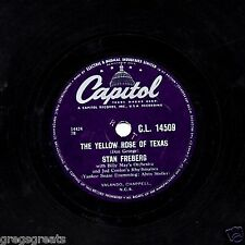 GREAT STAN FREBERG COMEDY 78 THE YELLOW ROSE OF TEXAS UK CAPITOL CL 14509  E