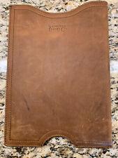"Saddleback Leather 13"" Laptop Sleeve Case Tobacco Tan Brown Top Grain Brand New"