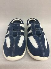 Rockport K57386 Womens  Estha Ii Mule Slip On Shoes Navy/White Mesh Sz 6 US