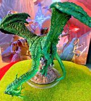Jabberwock D&D Miniature Dungeons Dragons Pathfinder Darklands green dragon 49 Z