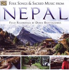 Deben BHATTACHARYA / Folk Songs and Sacred Music from NEPAL / (1 CD) / NEUF