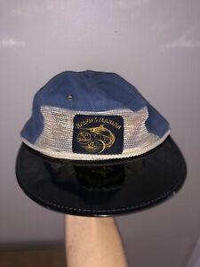 Vtg Deadstock Polo Ralph Lauren Ralphs Marina Long Bill Vented Hat USA NWT