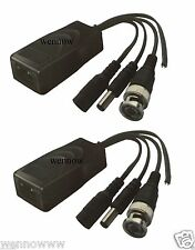 1 pair CH Channel CCTV Passive Video, Power & PTZ Data Transceiver Video Balun