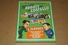 THE BEST OF ABBOTT AND COSTELLO VOLUME 4 DVD SET FACTORY SEALED
