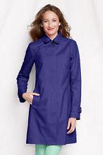 LANDS END Coastal Rain Coat ~ NWT ~ XS (2-4) ~ Royal Purple MSRP $99