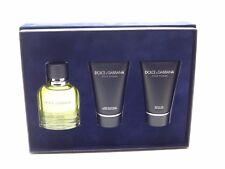 Dolce & Gabbana Pour Homme Coffret EDT Spray After Shave Balm Shower GEL 3pcs