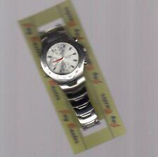 orologio Jay Baxter uomo cinturino acciaio  -garanzia due anni - m895 quadr acci
