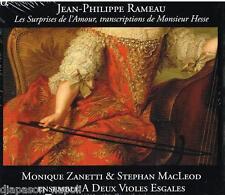 Rameau: Les Surprises De L'amour / Zanetti, Macleod - CD