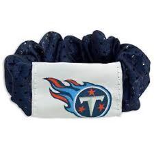 NEW TENNESSEE TITANS SCRUNCHIE HAIR TWIST PONY TAIL HOLDER TEAM NFL FOOTBALL