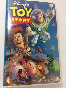 Toy Story (VHS, 1996) Walt Disney Home Video Cassette Tape with Original Case