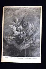 Strenne Illustrate (La Divina Commedia di Dante Alighieri) Incisione del 1886