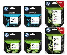 Genuine HP303 303XL Black & Colour Ink Cartridge For ENVY Photo 7130 Printer Lot