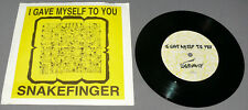 "Snakefinger - I Gave Myself To You 7"" 45rpm Vinyl Record ex-Residents Unplayed"