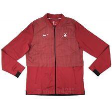 3b230e4e1 New Nike Alabama Crimson Tide Dry Elite Hybrid Jacket Men's Large Red  908416 $95
