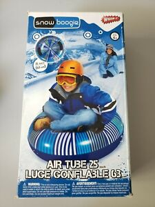 Wham-O Snow Boogie 25 Inches Inflatable Snow Tube Two Sturdy Grip Handles NEW!
