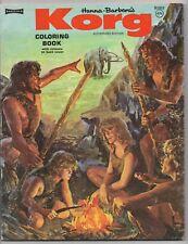 KORG  COLORING BOOK  HANNA BARBERA  SAALFIELD  H1853  1975  UNUSED  UNCUT  80 PA