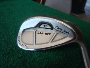 """Cleveland 588 RTX Rotex 56* Steel Wedge Flex Golf Club 56-14 """"NICE"""""""