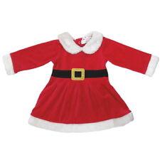 Baby Strampler Weihnachtskostüm Weihnachtsstrampler Overall Weihnachtsmann Neu