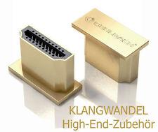 OEHLBACH XXL HS Caps HDMI Schutzkappen  / Schirmt HDMI-Eingänge ab / 4 Stück Neu