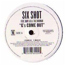 6 Shot - G's Come Out (X4) [New Vinyl] Explicit