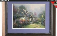 "Thomas Kinkade Signed ""Candlelight Cottage"" Emergency Sale"