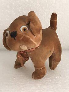 Vintage Antique Chloe Preston Dinkie Dog Stuffed Plush Animal