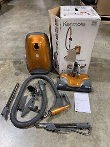 Kenmore 81214 200 Series Bagged Canister Vacuum Orange